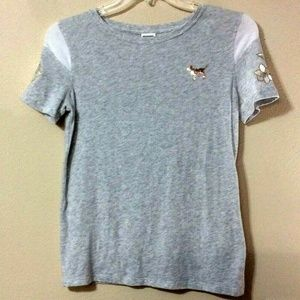 PINK VICTORIA'S SECRET Small T-Shirt